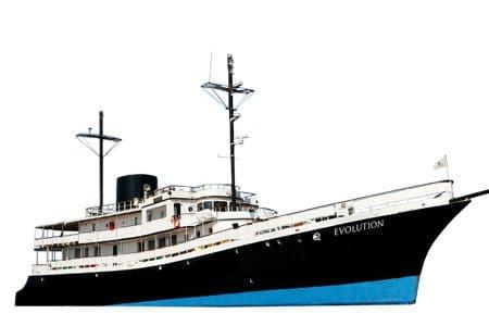 Evolution Galapagos Ship