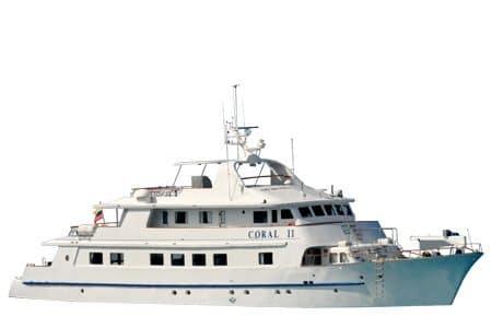 Coral 1 & 2 Galapagos Yacht