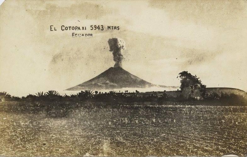 Cotopaxi Volcano 1942