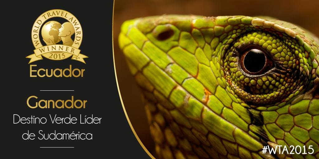 Green World Travel Award 2015