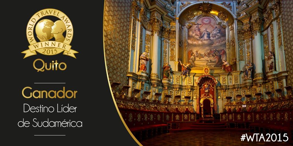 Quito World Travel Award 2015