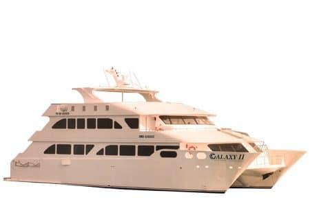 Galaxy II Eco Galapagos Catamaran