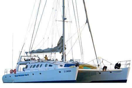 Nemo 3 Galapagos Catamaran