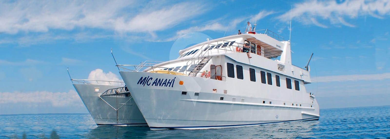 Catamaran Anahi Galapagos