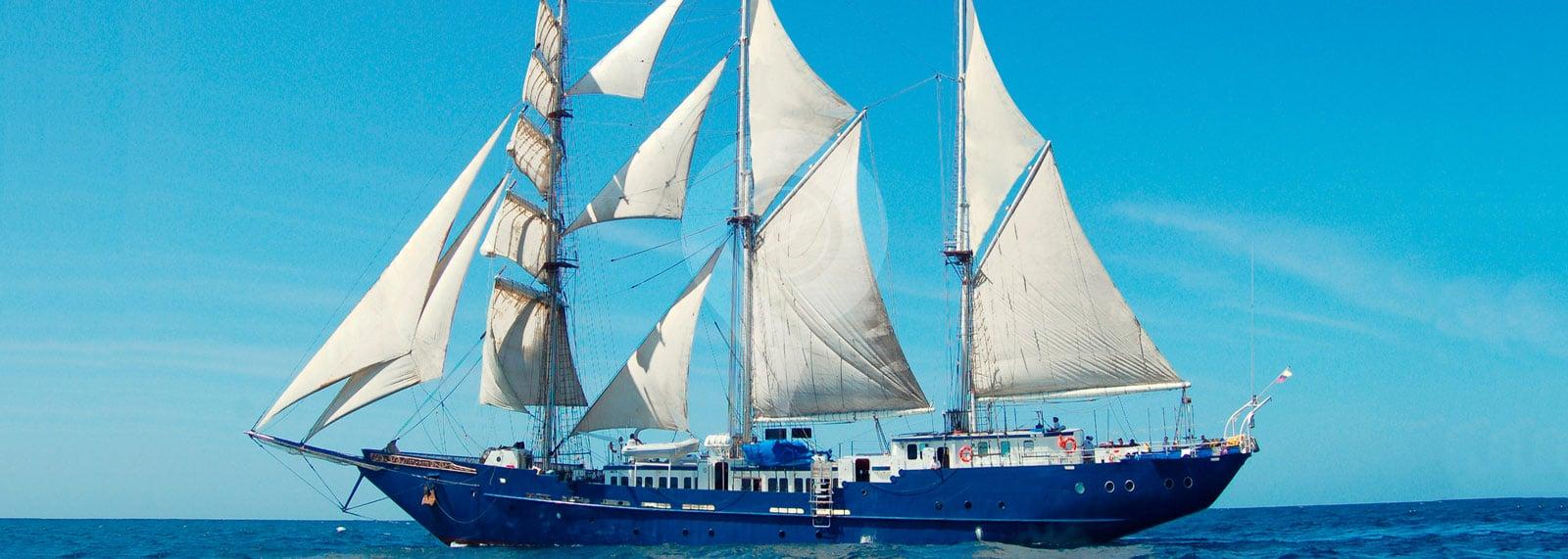Mary Anne Galapagos Sailboat