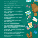 Galapagos Clothing Packing List