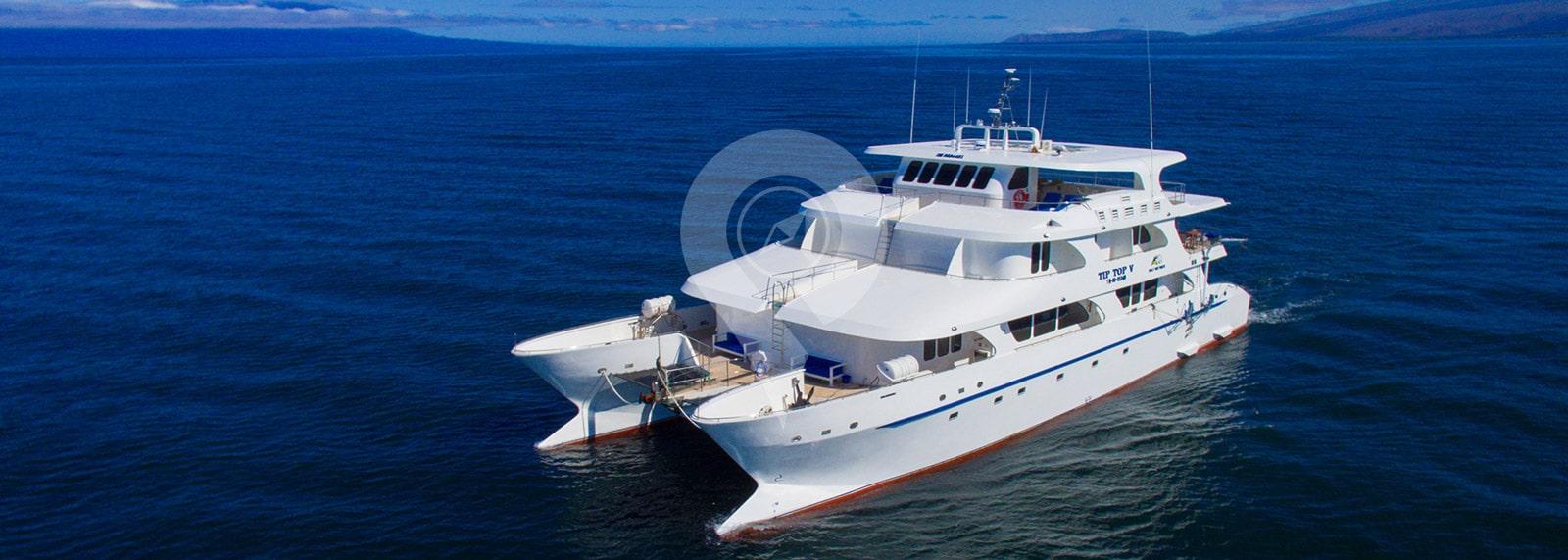 Catamaran Tip Top 5 Galapagos