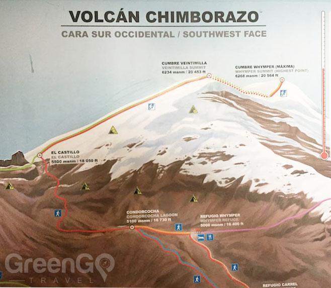 Chimborazo-Map