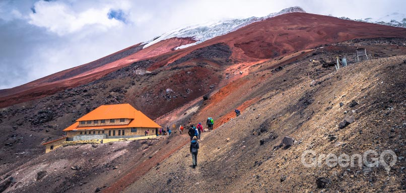 5 best hiking trails in ecuador Cotopaxi