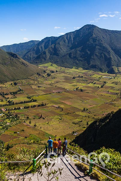 5 best hiking trails in ecuador Pululahua.