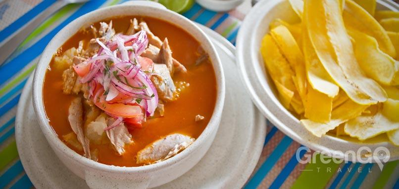 Encebollado Ecuadorian Dish