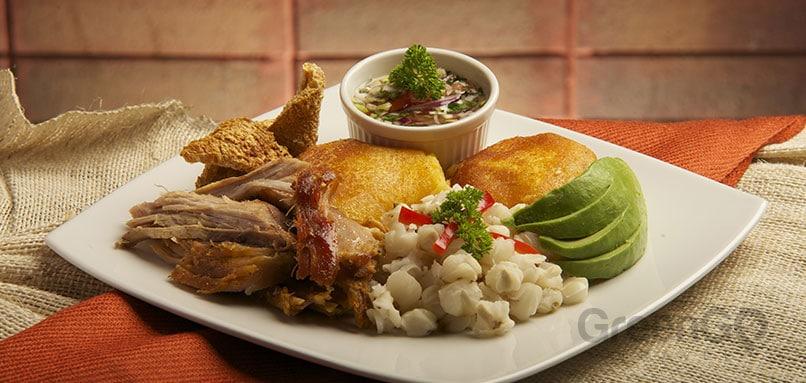 Restaurants in Quito - Hornado Dish