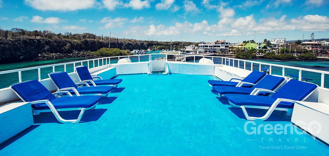 Galapagos Yachts- Sun Deck