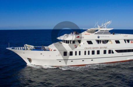 Grand Queen Beatriz Galapagos Cruise Highlights-Exterior view of Grand Queen Beatriz