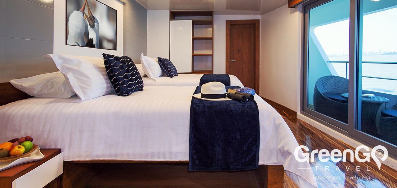 Infinity Galapagos Cruise Itineraries- Twin Cabin