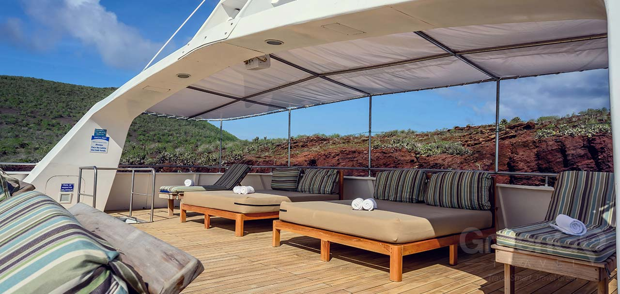 Seaman Journey Galapagos Catamaran-Solarium Deck