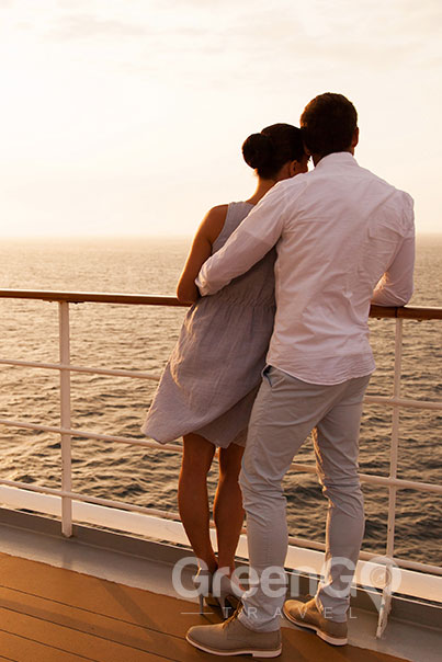 Tip-Top-V-Galapagos-Cruise-Honeymoon-Experience-Honeymoon-COuple-standing-on-Galapagos-Cruise