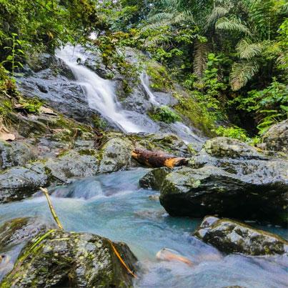 Ecuador Waterfall