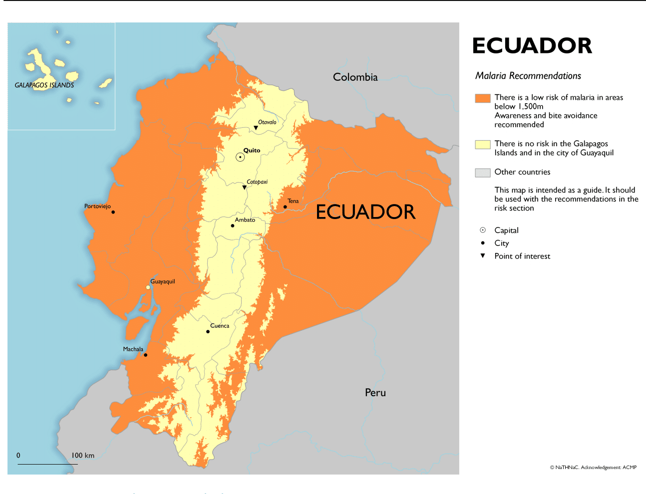 Diseases in Ecuador - Malaria