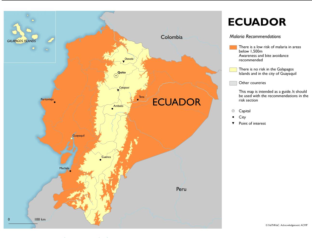 Diseases in Ecuador - Malaria